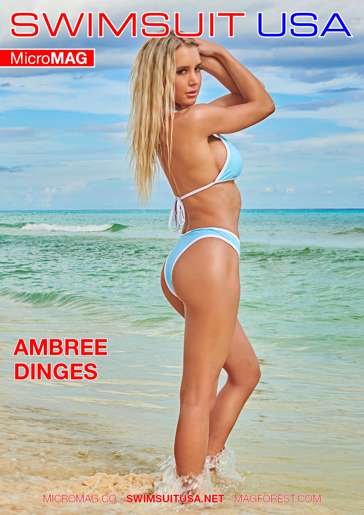 Swimsuit USA MicroMAG - Ambree Dinges - Issue 2 1