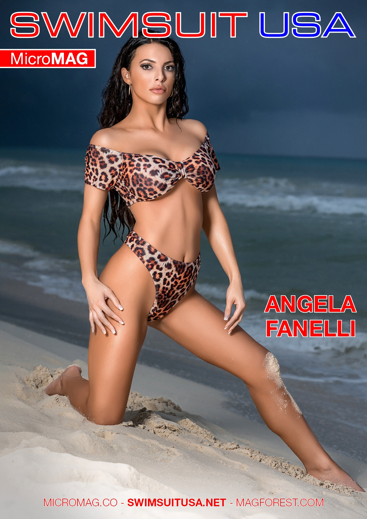 Swimsuit USA MicroMAG - Angela Fanelli - Issue 2 1
