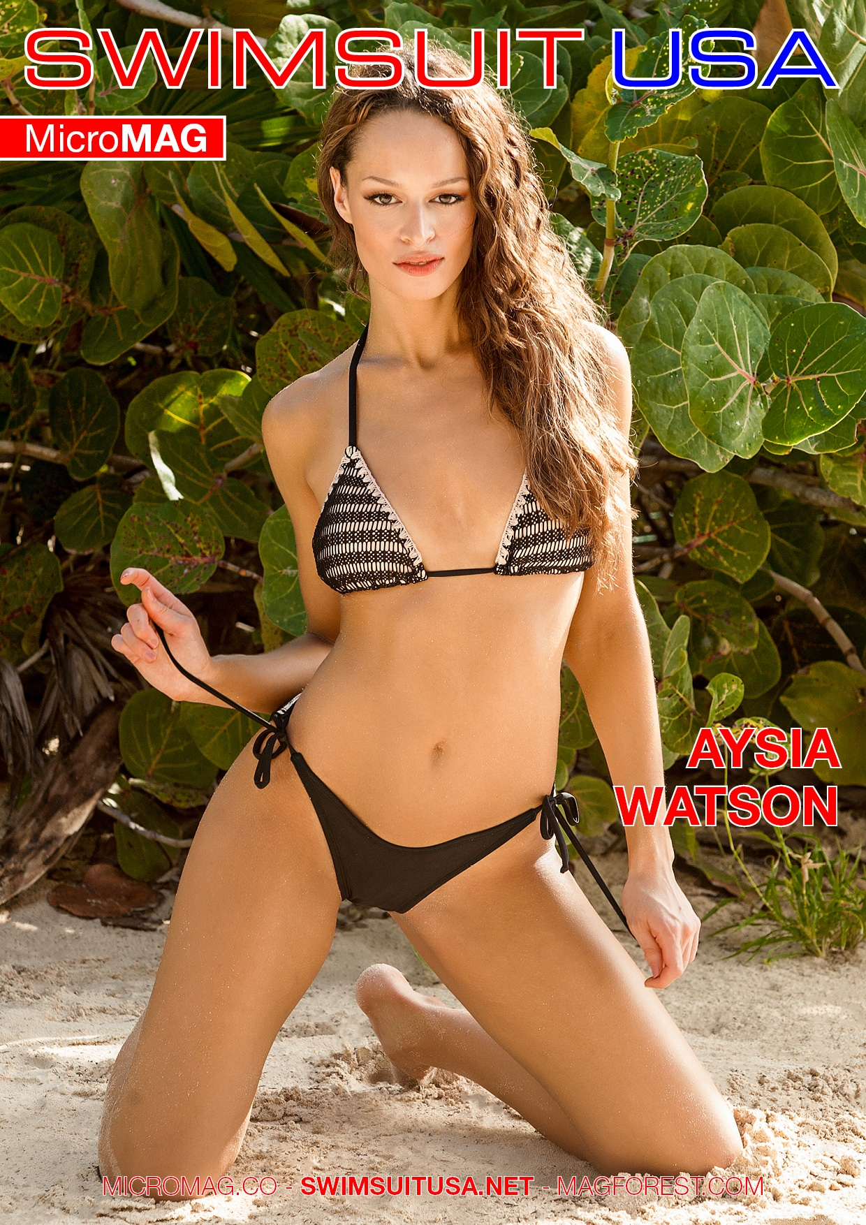 Swimsuit USA MicroMAG - Aysia Watson - Issue 3 2