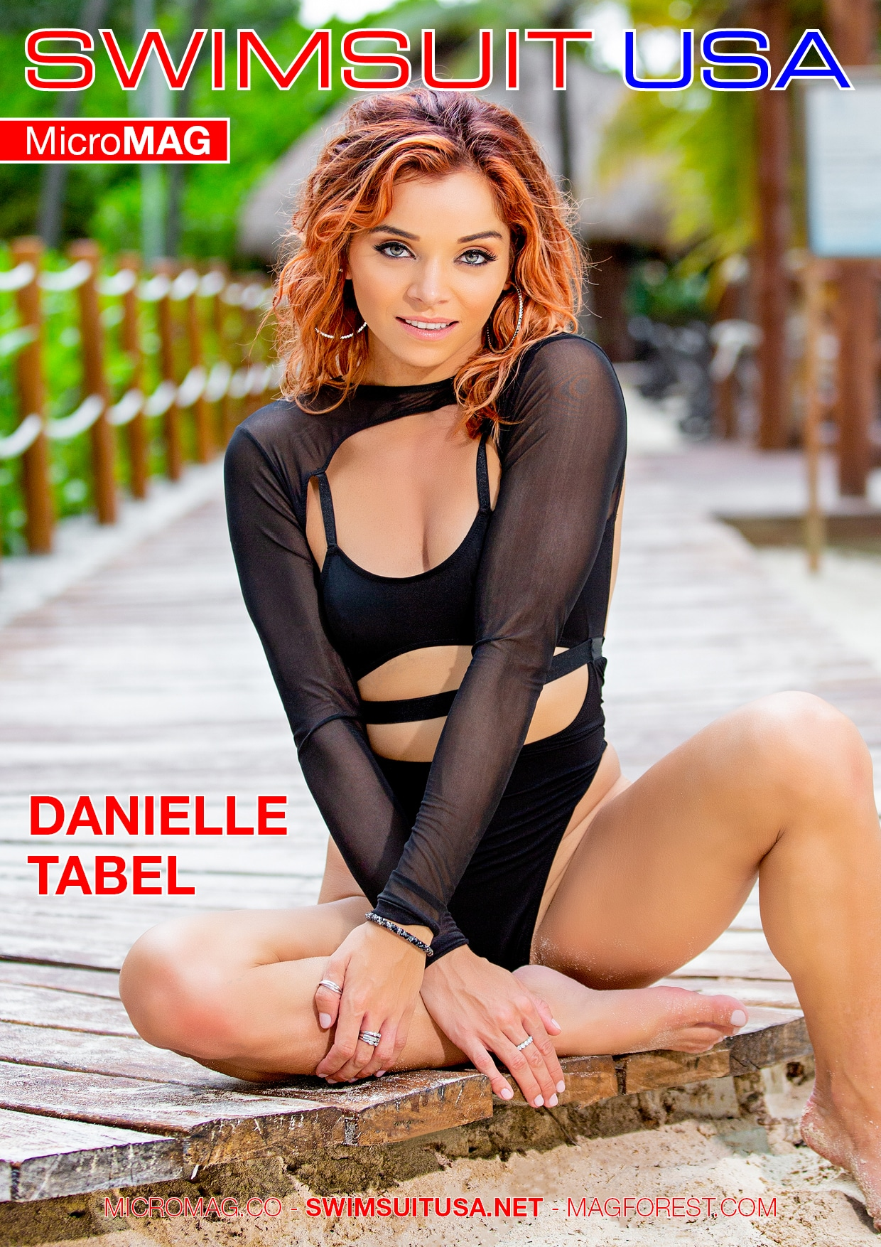 Swimsuit USA MicroMAG - Danielle Tabel 1