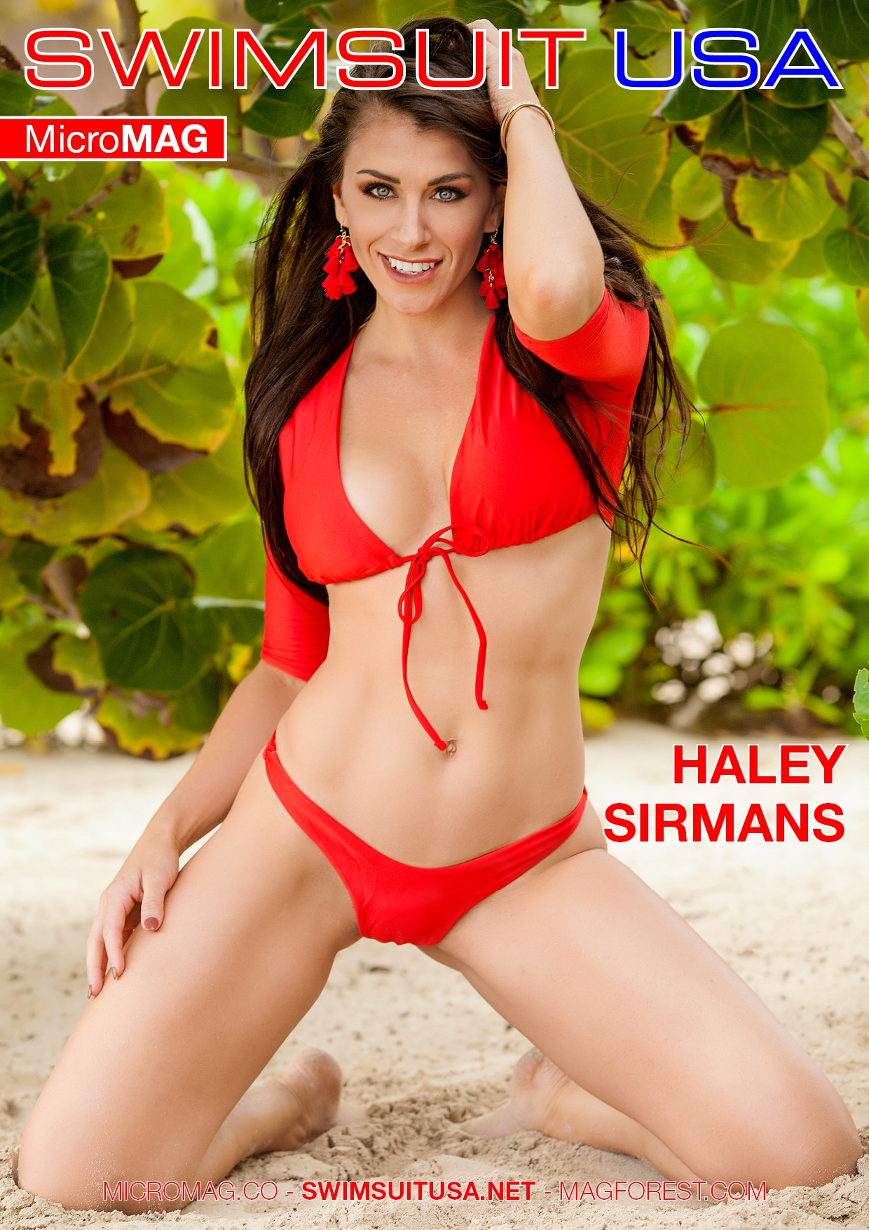 Swimsuit USA MicroMAG - Haley Sirmans - Issue 4 2