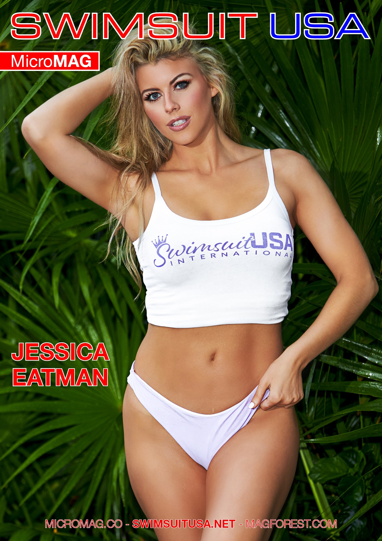 Swimsuit USA MicroMAG - Jessica Eatman - Issue 6 1