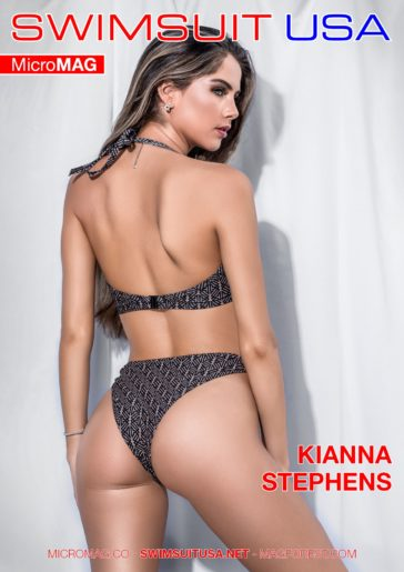 Swimsuit USA MicroMAG - Kianna Stephens 1