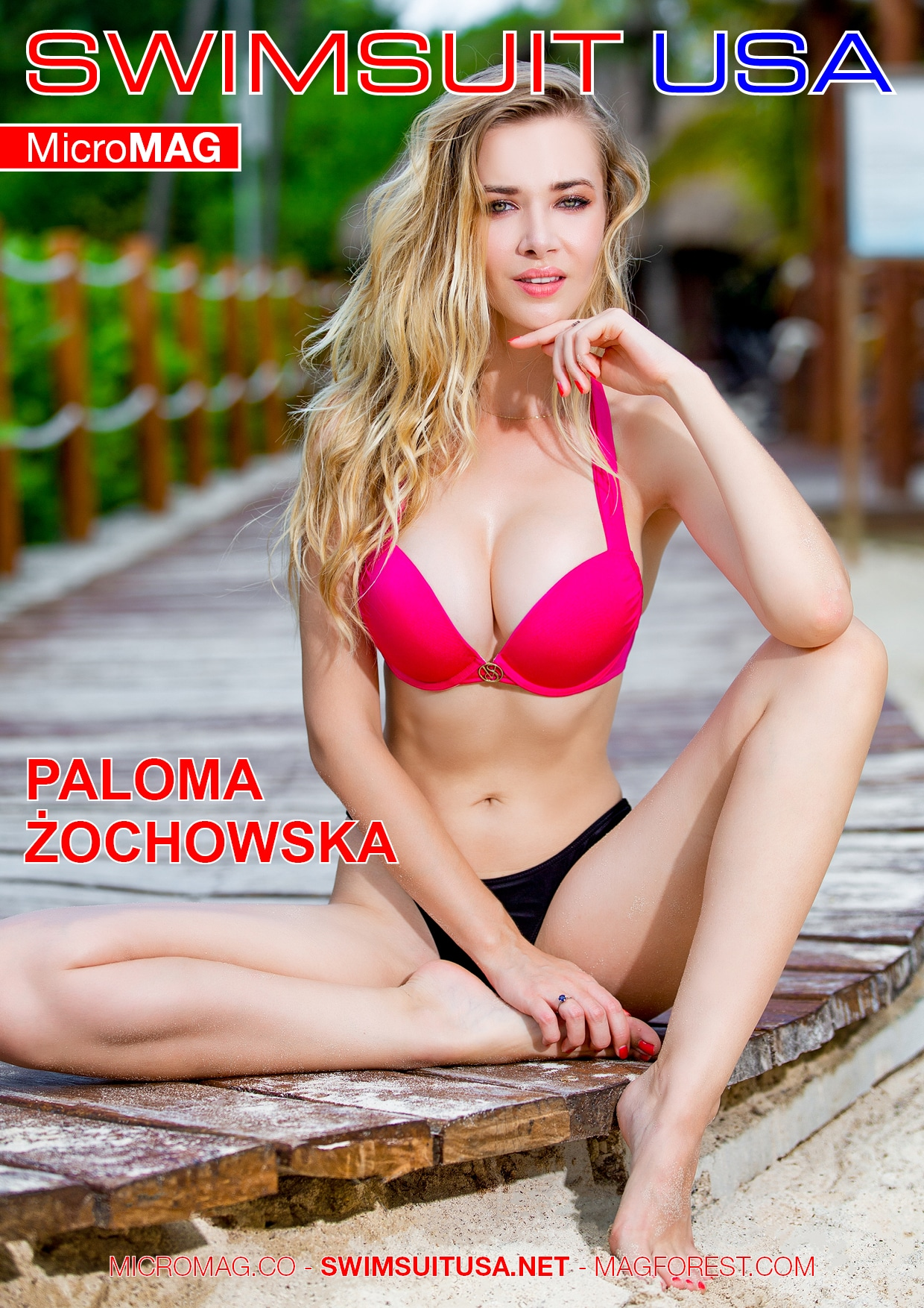 Swimsuit USA MicroMAG - Paloma Zochowska - Issue 2 2