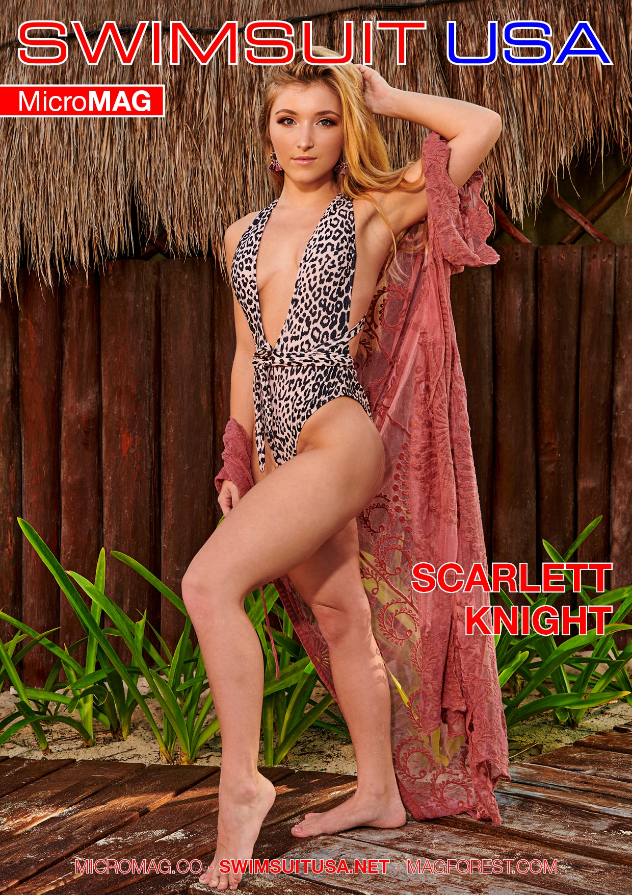 Swimsuit USA MicroMAG - Scarlett Knight - Issue 2 2