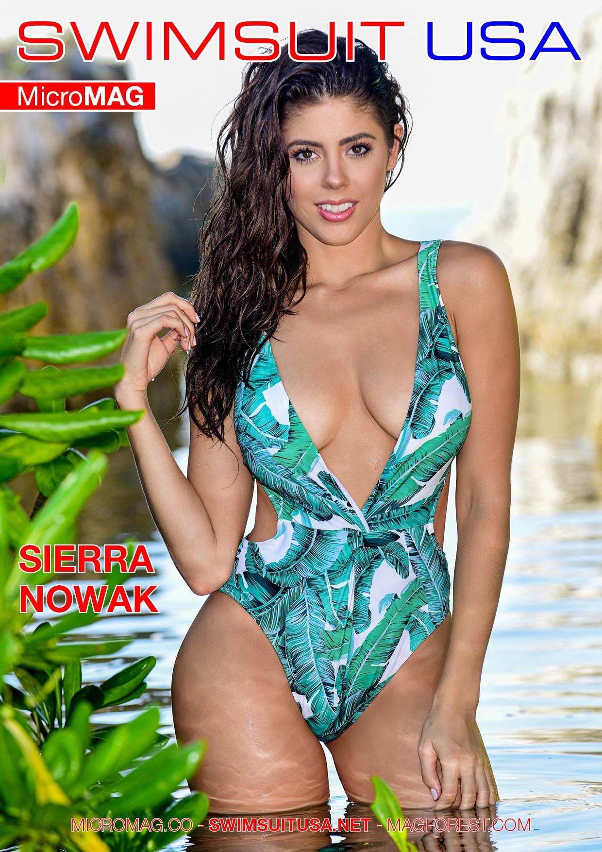 Swimsuit USA MicroMAG - Sierra Nowak - Issue 4 1