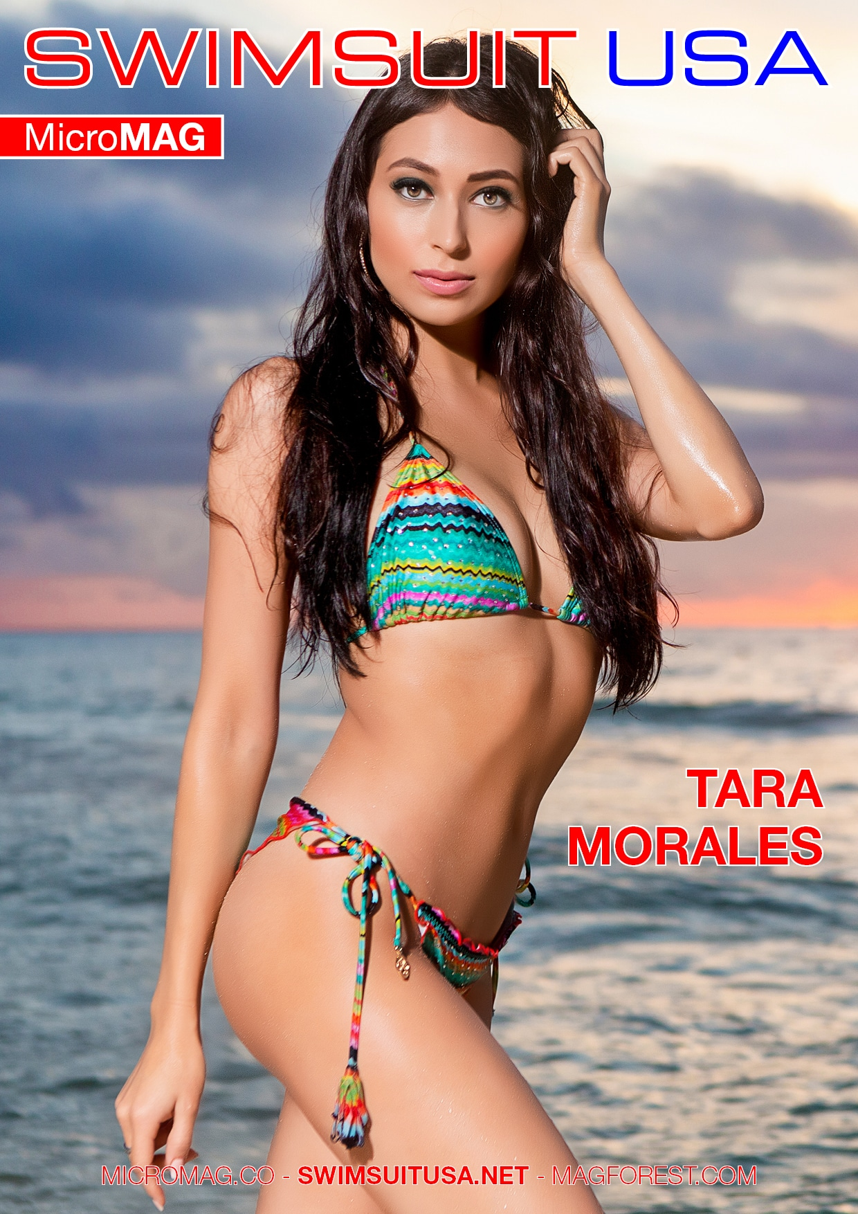 Swimsuit USA MicroMAG - Tara Morales - Issue 2 2