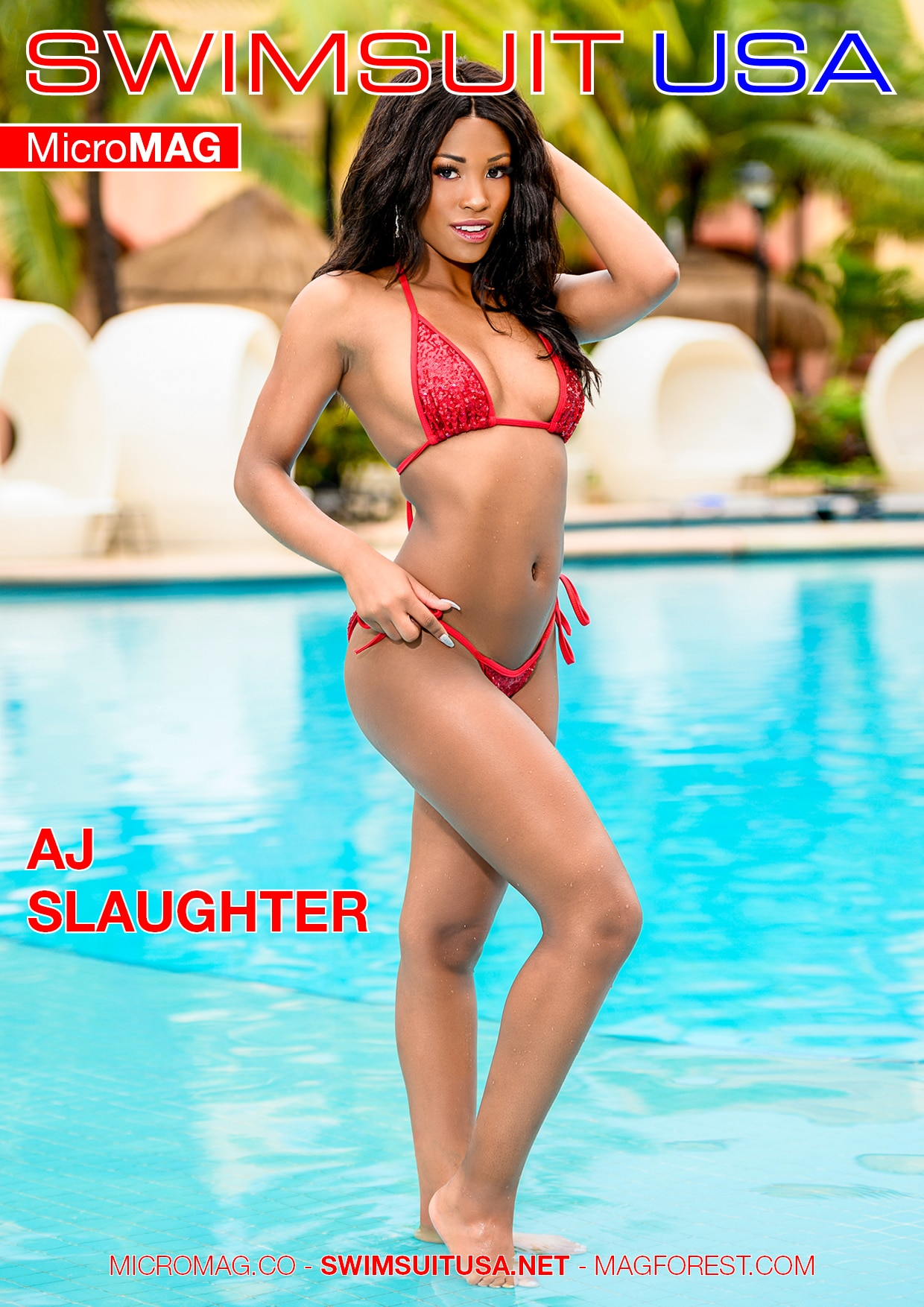 Swimsuit USA MicroMAG - AJ Slaughter - Issue 2 1