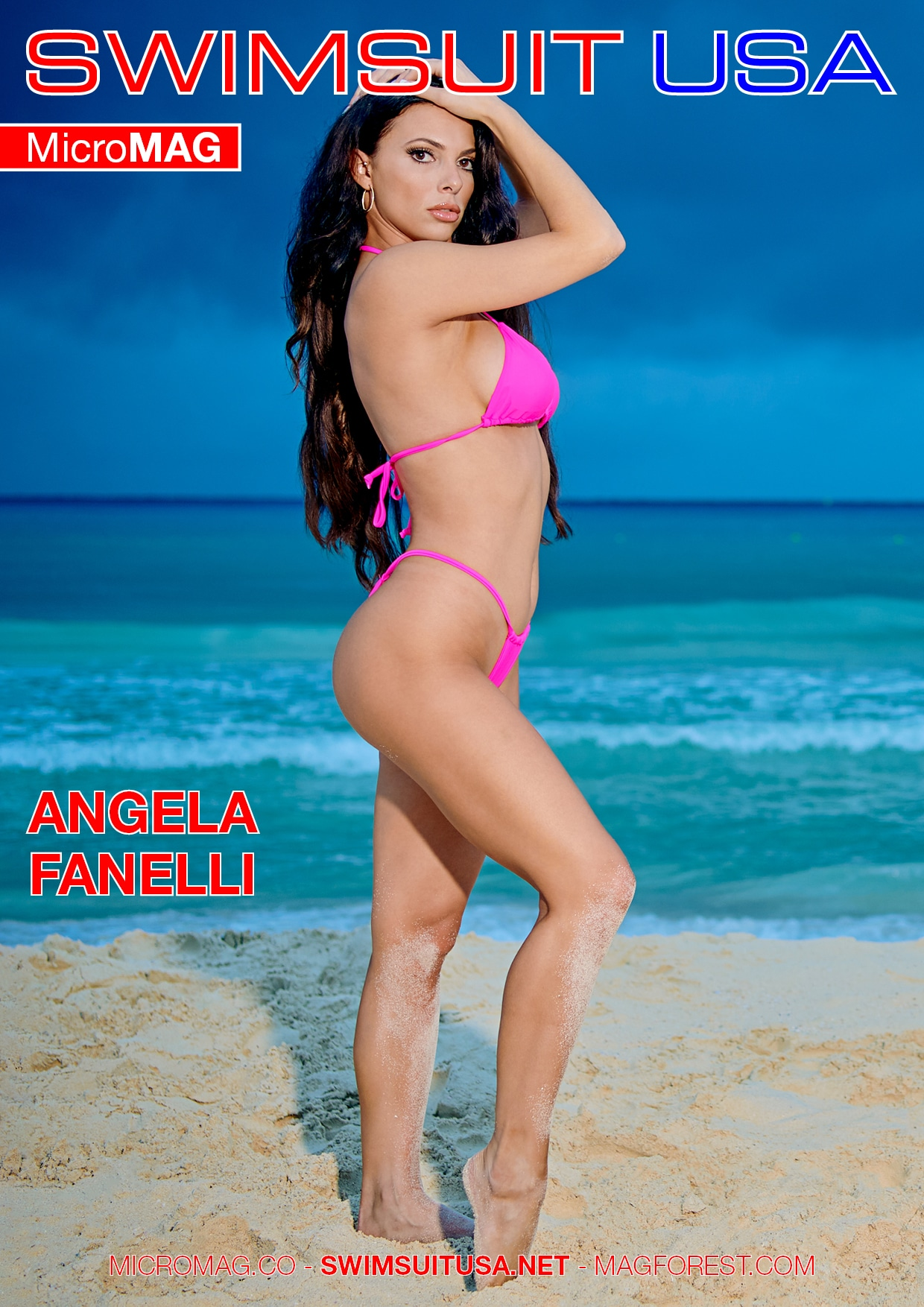 Swimsuit USA MicroMAG - Angela Fanelli - Issue 2 2