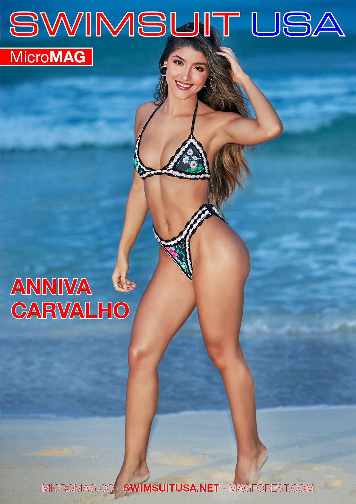 Swimsuit USA MicroMAG - Anniva Carvalho - Issue 2 3