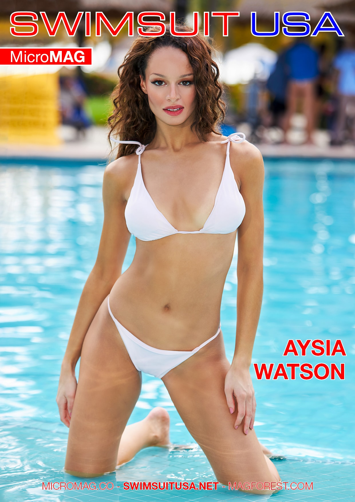 Swimsuit USA MicroMAG - Aysia Watson - Issue 3 1