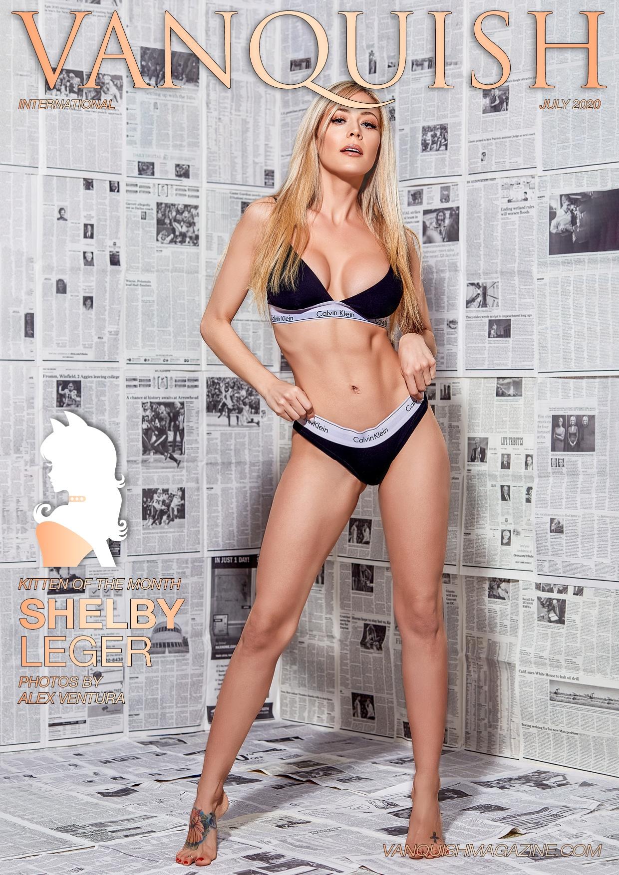 Vanquish Magazine - July 2020 - Shelby Leger 1