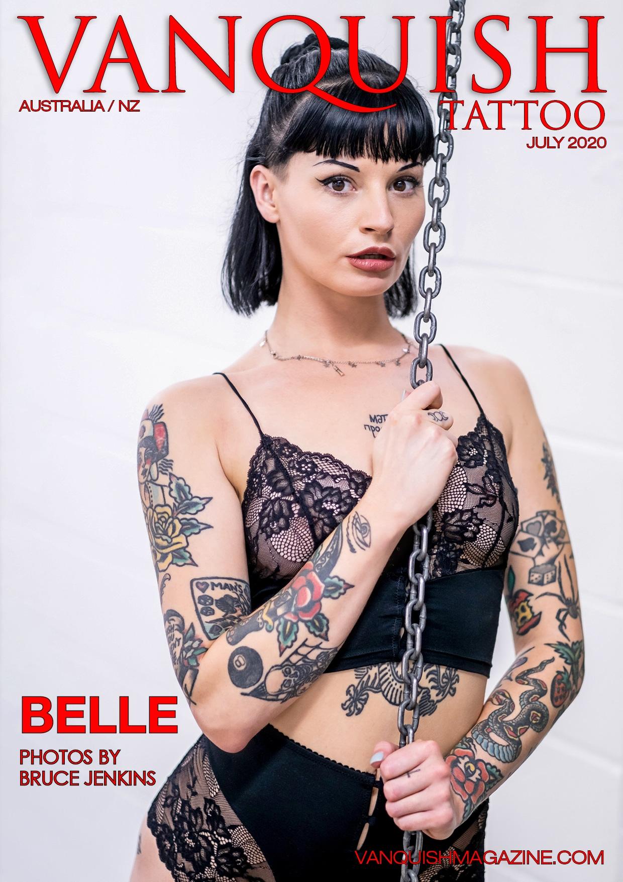 Vanquish Tattoo - July 2020 - Belle 1