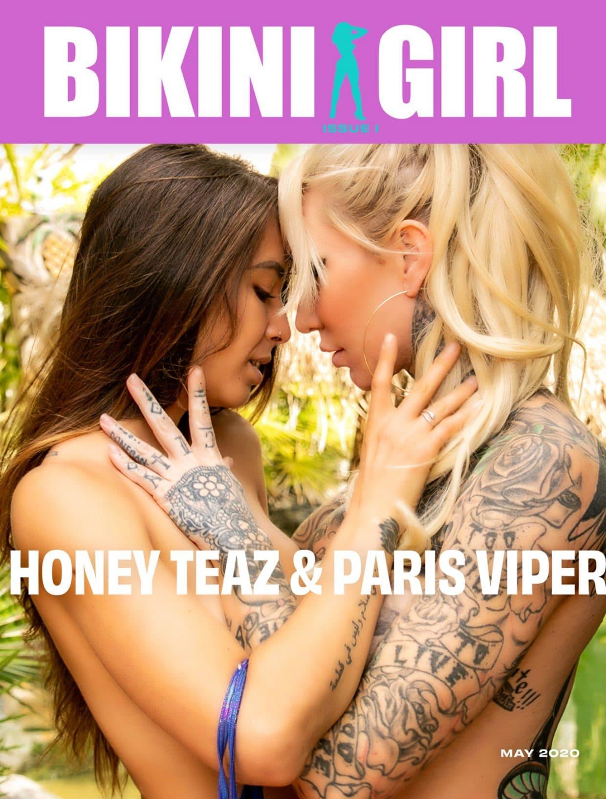 Bikini Girl - May 2020 - Paris Viper & Honey Teaz 1