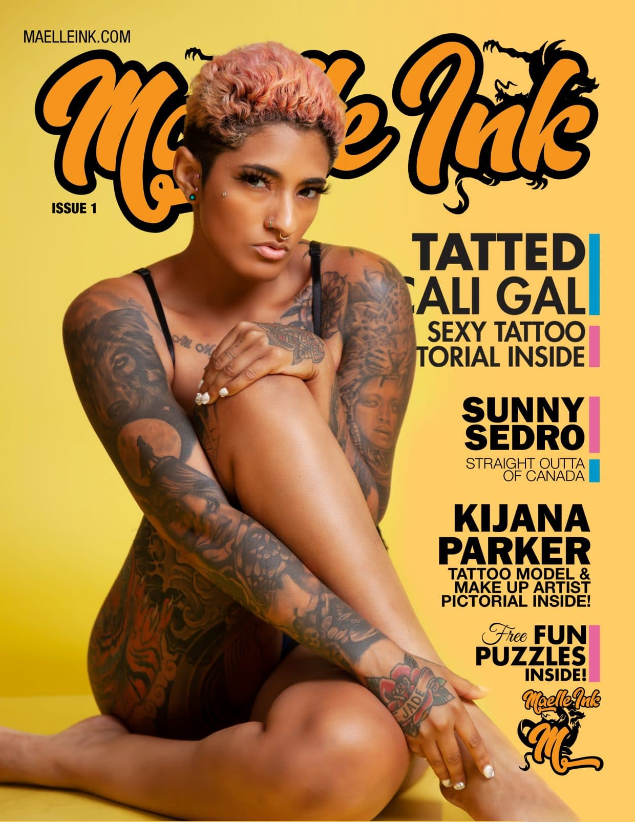 Maelle Ink Magazine – Issue 1 – Colore 2