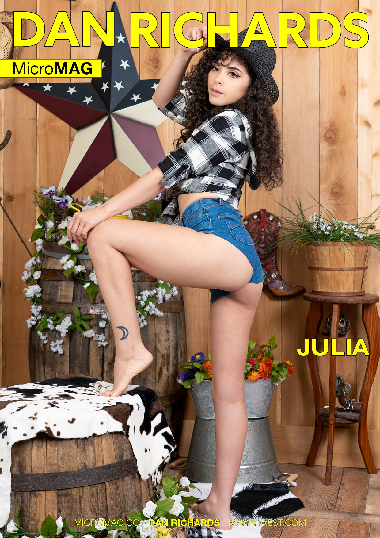 Dan Richards MicroMAG - Julia - Issue 2 1
