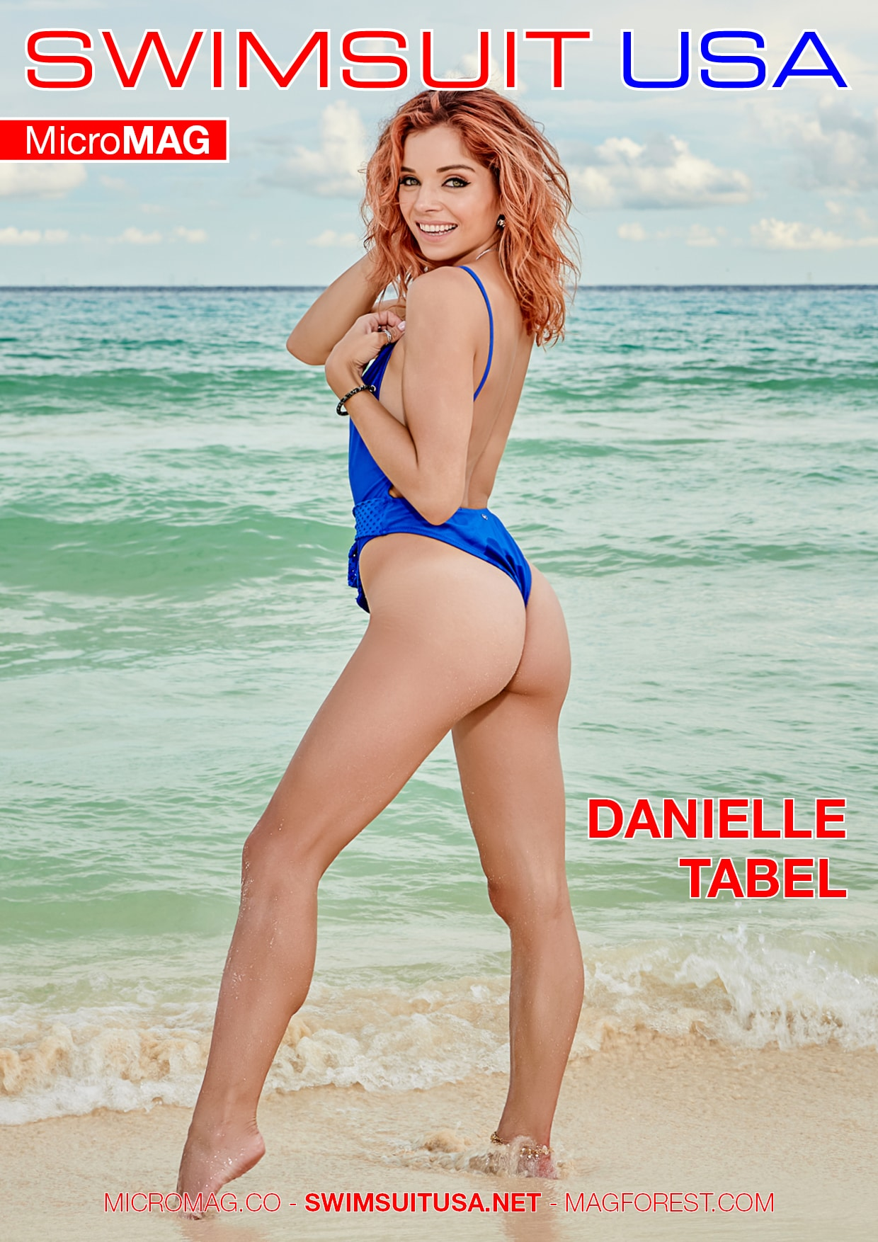Swimsuit USA MicroMAG - Danielle Tabel 2