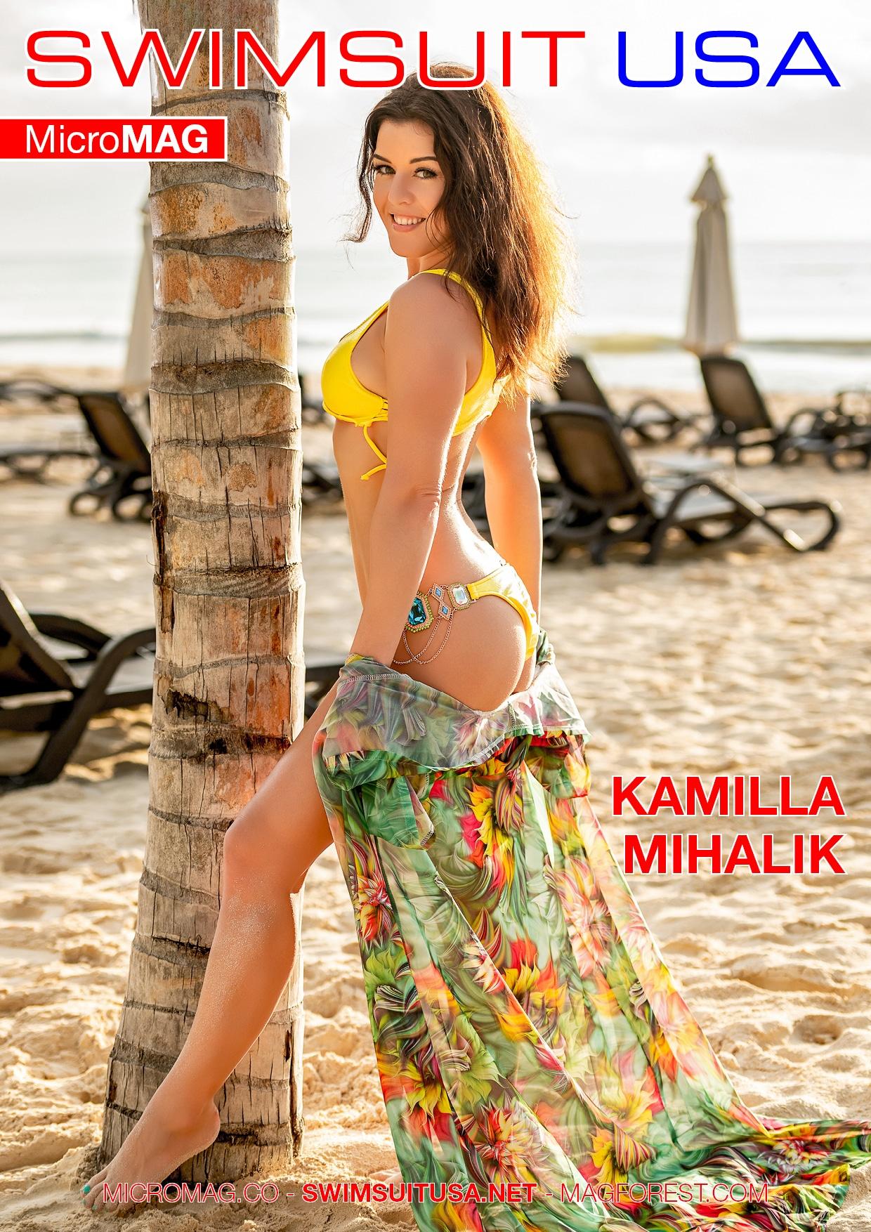 Swimsuit USA MicroMAG - Kamilla Mihalik - Issue 4 2