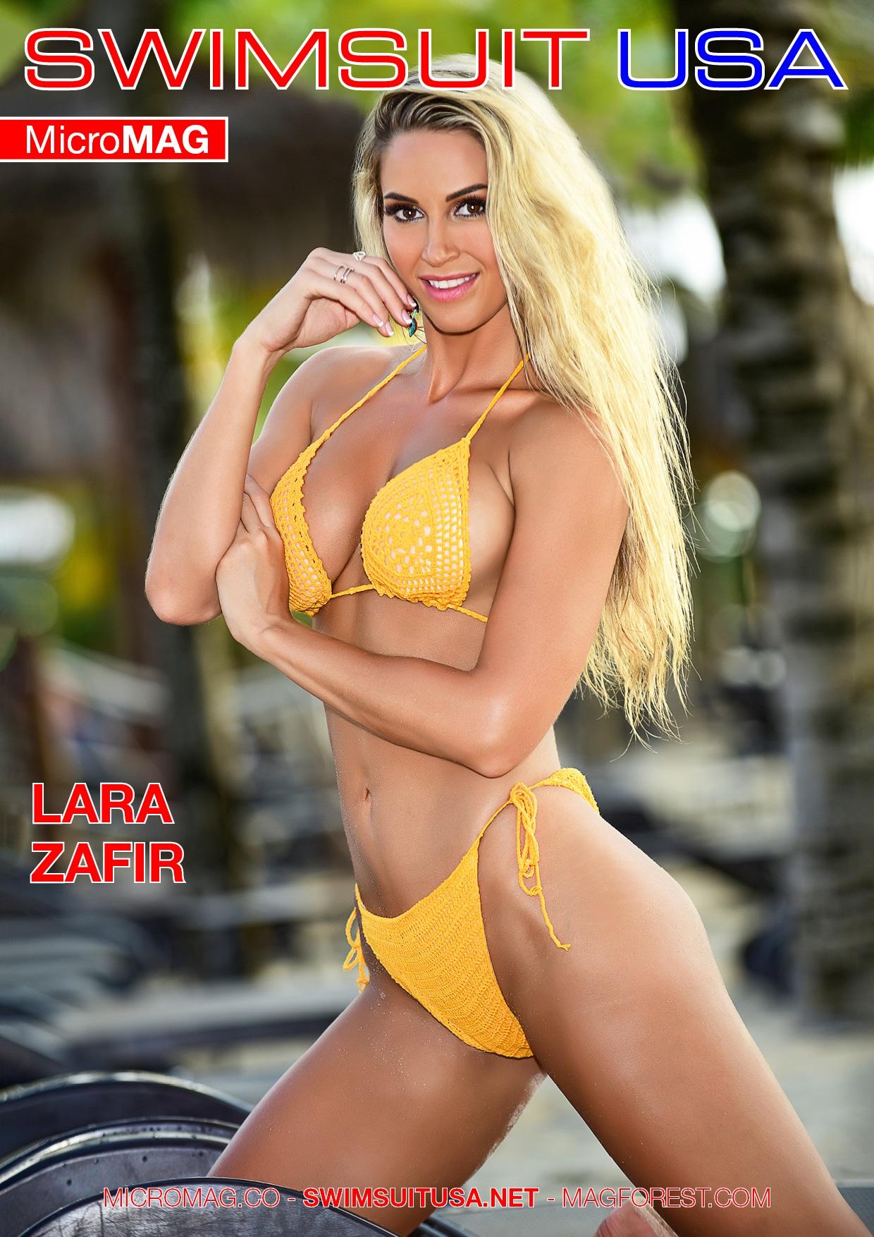 Swimsuit USA MicroMAG - Lara Zafir 4