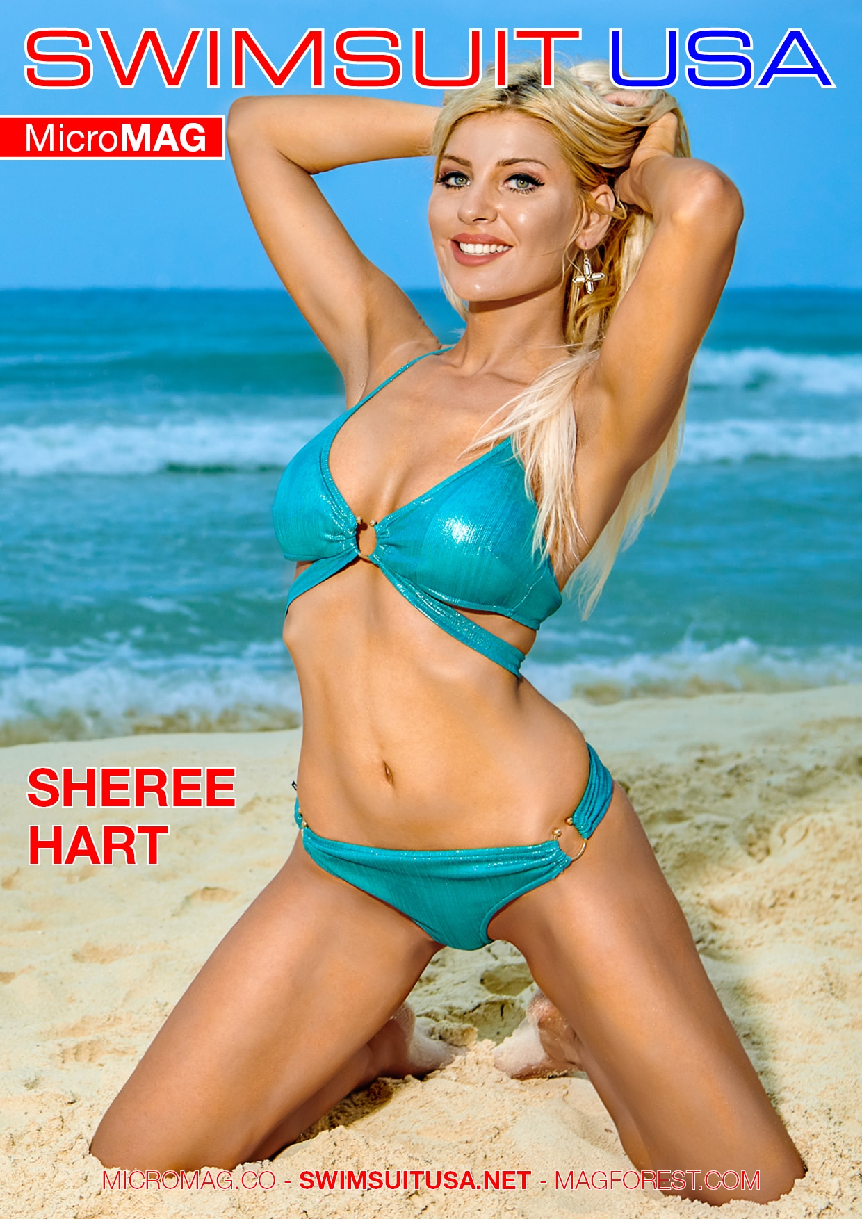 Swimsuit USA MicroMAG - Sheree Hart 2