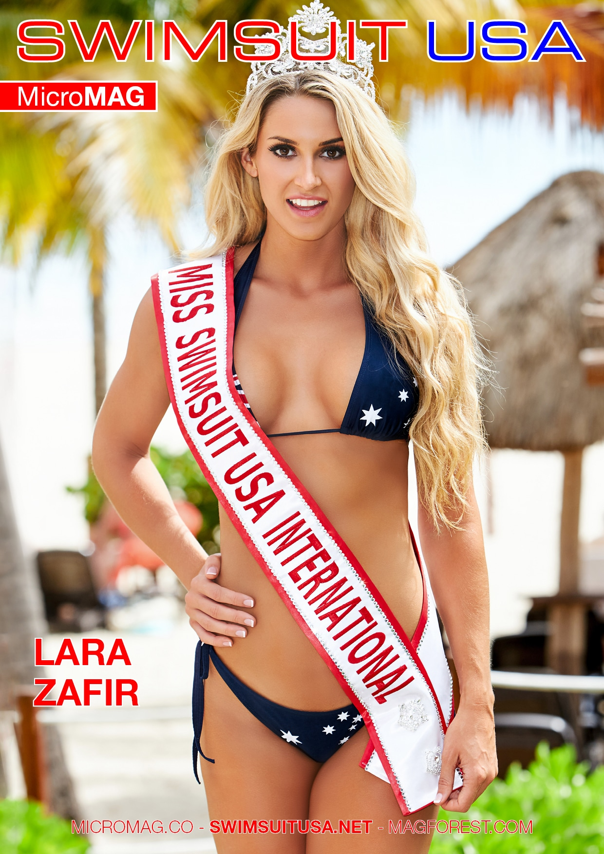 Swimsuit USA MicroMAG - Julie Gauthier - Issue 2 3