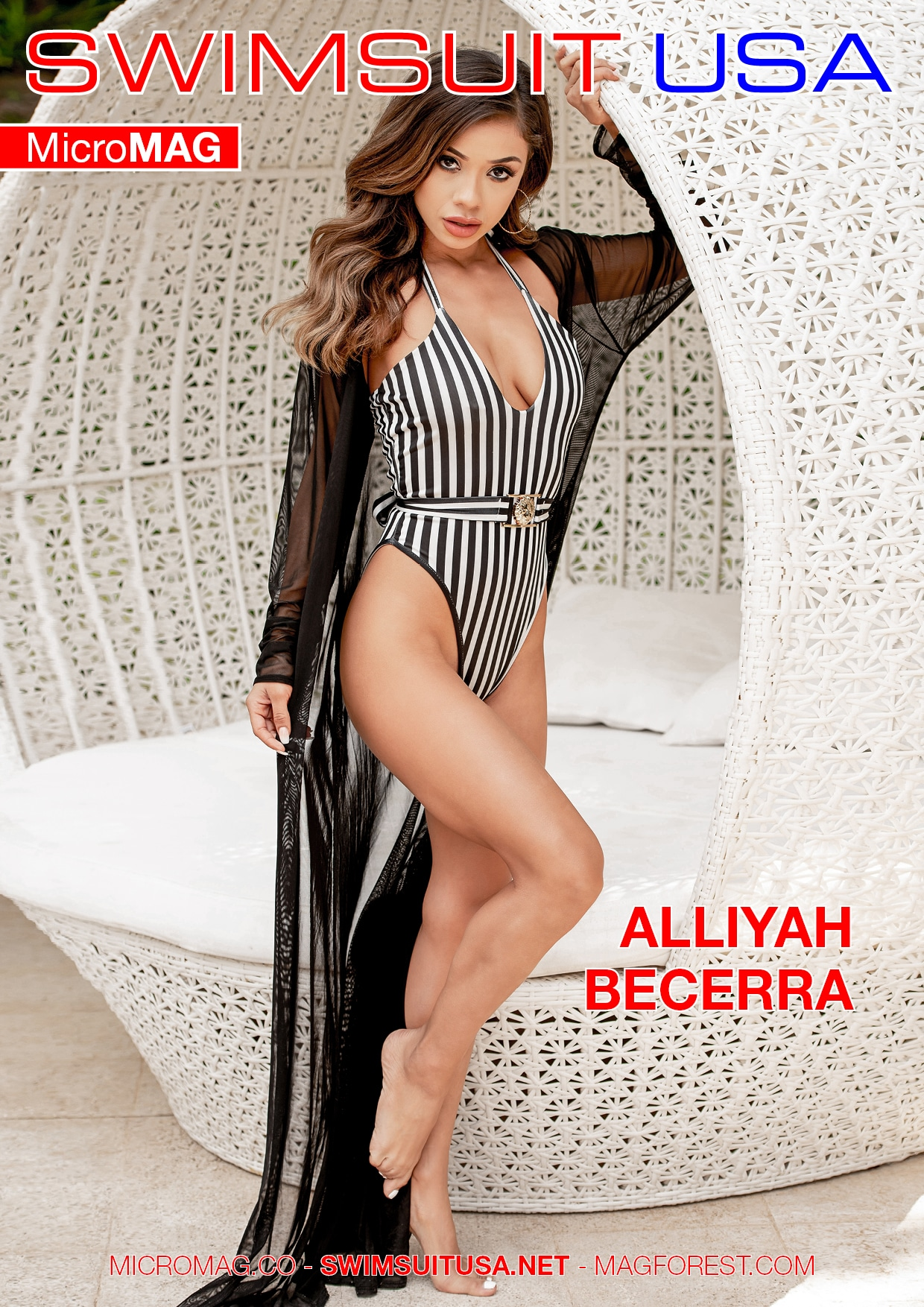 Swimsuit USA MicroMAG - Alliyah Becerra - Issue 5 1