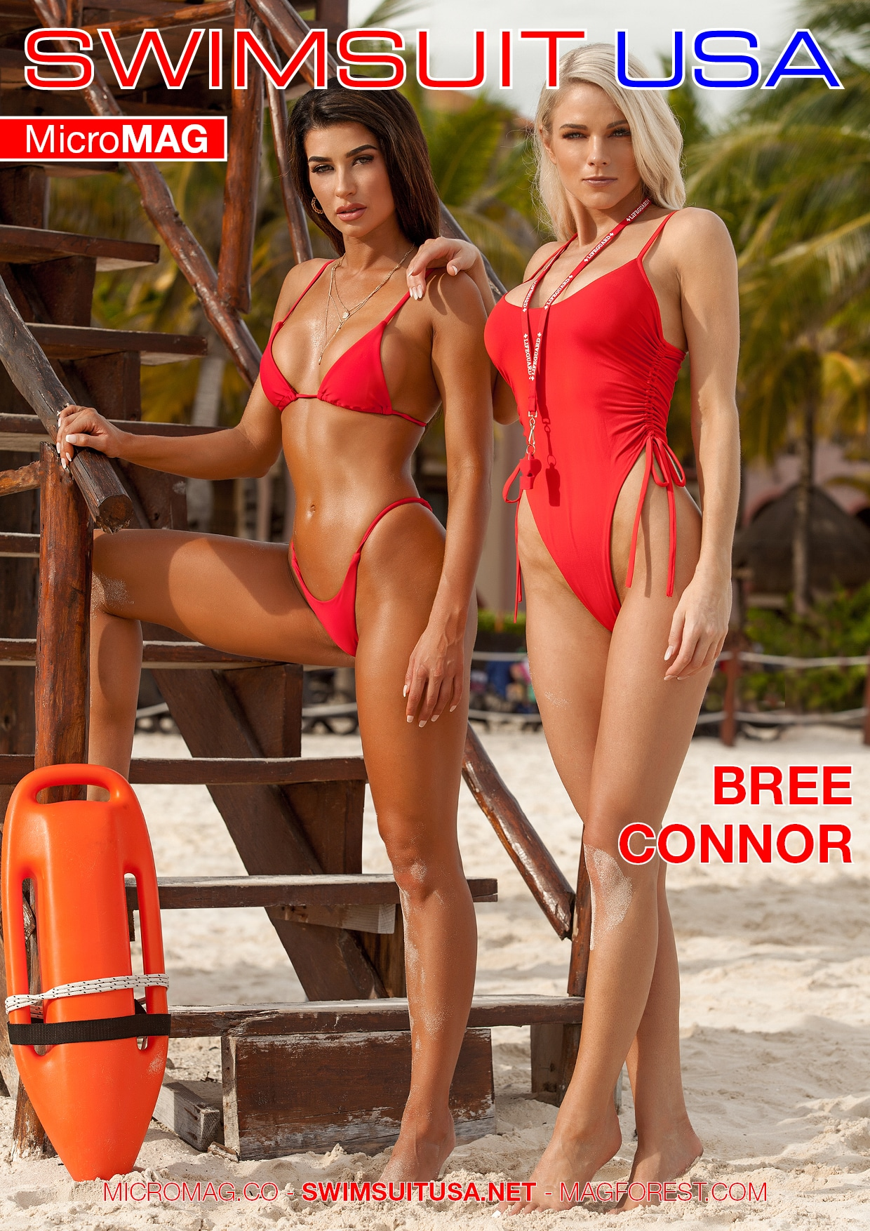 Swimsuit USA MicroMAG - Bree Connor - Issue 4 2