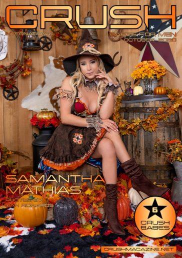 Crush Magazine - October 2020 - Samantha Mathias 1