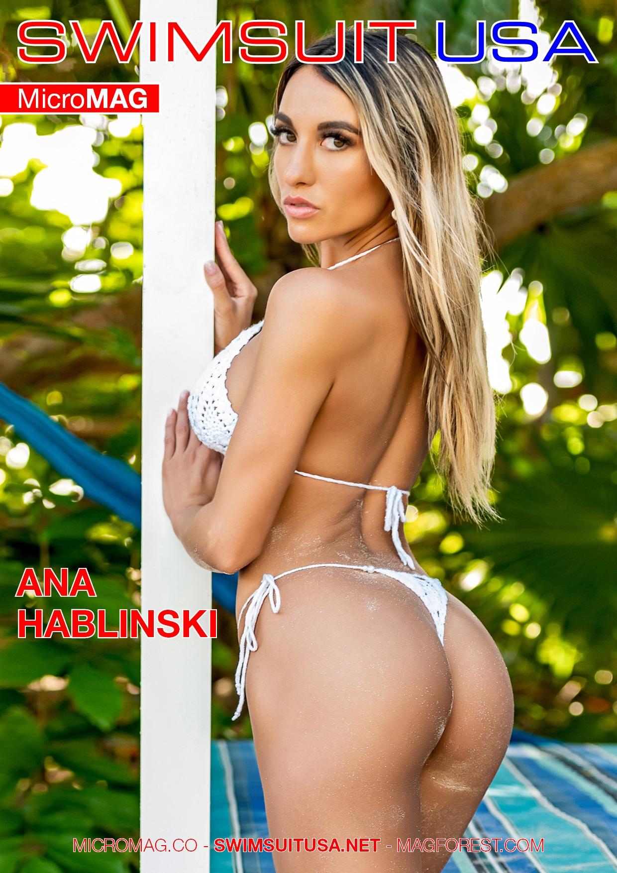 Swimsuit USA MicroMAG - Ana Hablinski - Issue 6 2