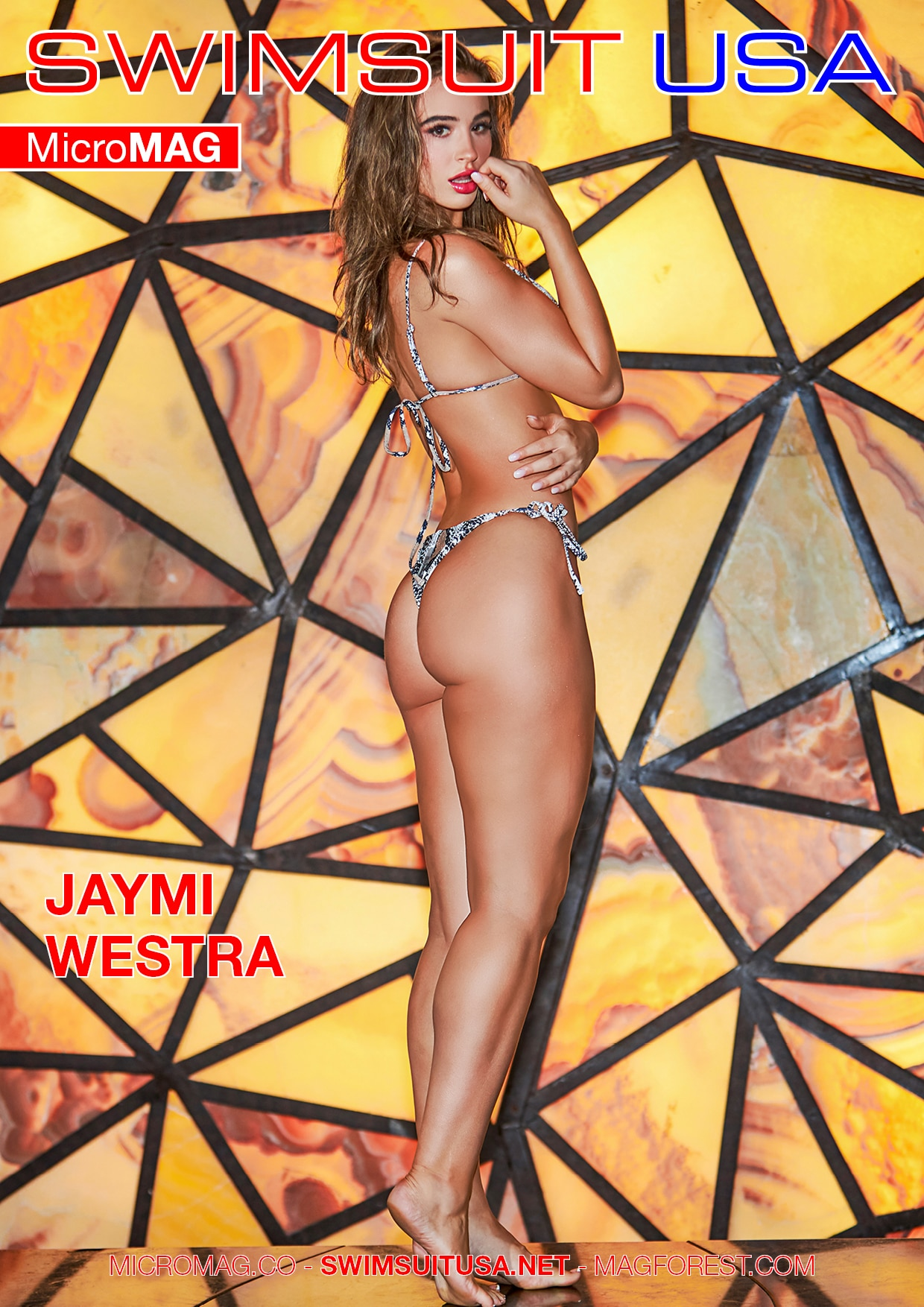 Swimsuit USA MicroMAG - Jaymi Westra - Issue 3 2