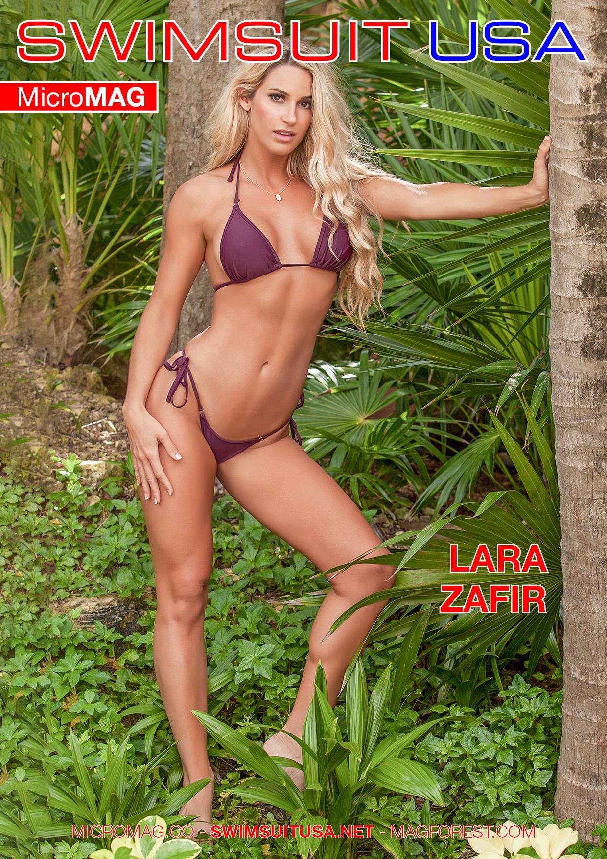 Swimsuit USA MicroMAG - Lara Zafir - Issue 5 2
