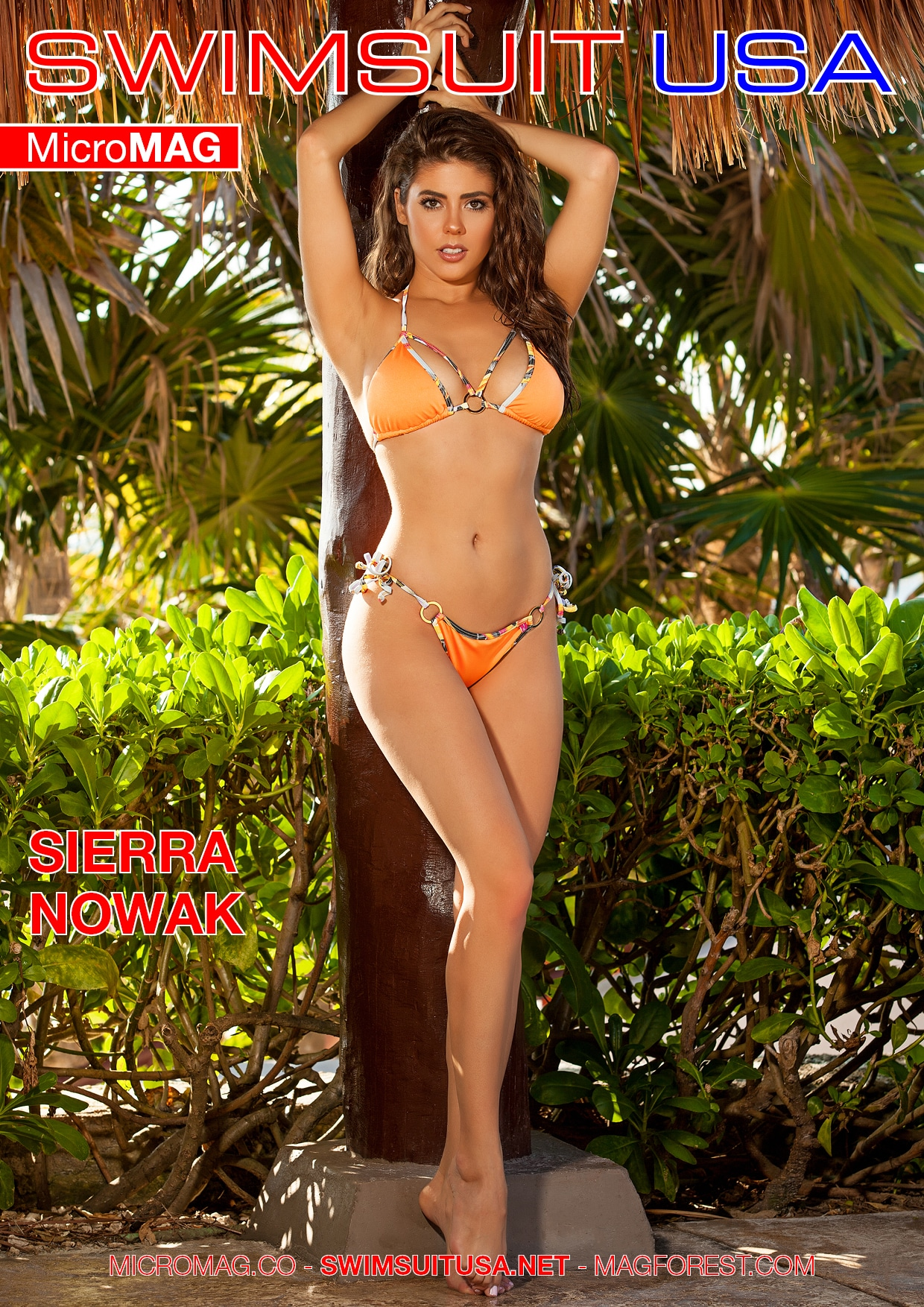 Swimsuit USA MicroMAG - Sierra Nowak - Issue 6 2